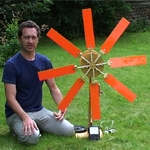 Jonathan Hare with Windmill